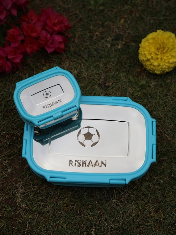 Personalized Steel Tiffin
