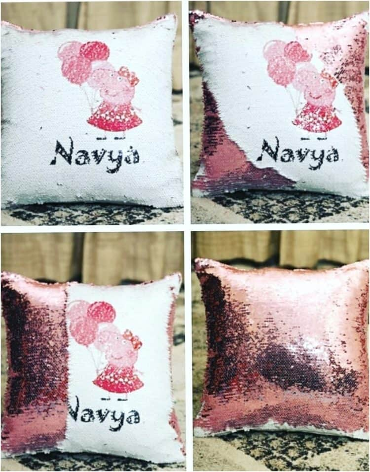 Personalized Magic Pillow- Peppa Pig