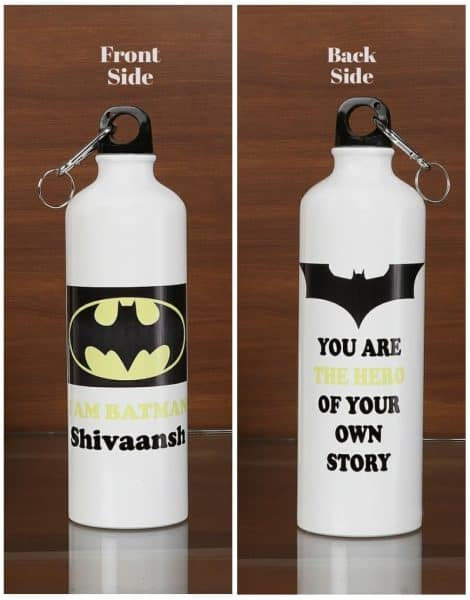 Personalized Steel Bottle- Batman