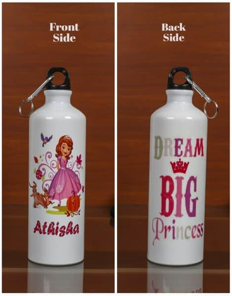 Personalized Steel Bottle- Princess